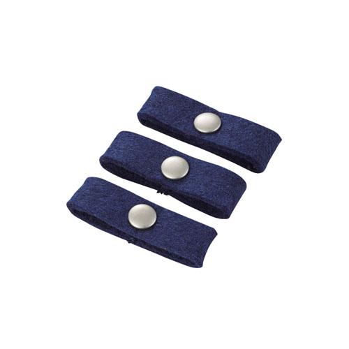 エレコム ケーブルホルダー リングホルダー Sサイズ ブルー EKC-CRFSBU
