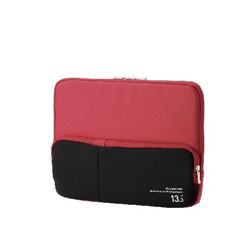 エレコム ポケット付きPCインナーバッグ BM-IBPT13RD