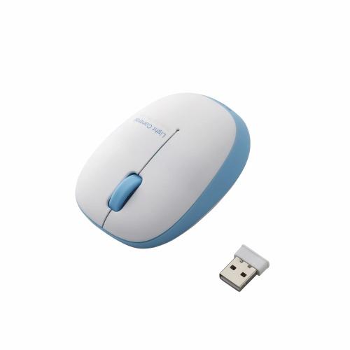 エレコム ワイヤレスBlueLEDマウス M-BL20DBBU