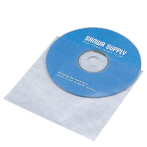 サンワサプライ CD・CD-R用不織布ケース(50枚セット) FCD-F50